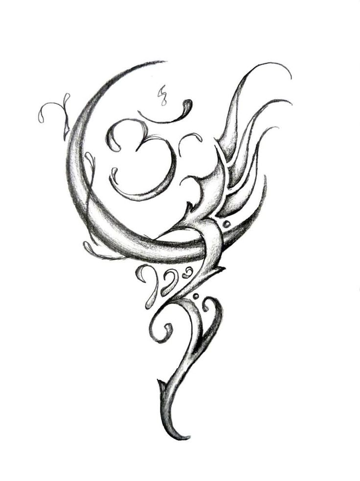 hindu tattoo flash art for women - Google Search | tattoos ...