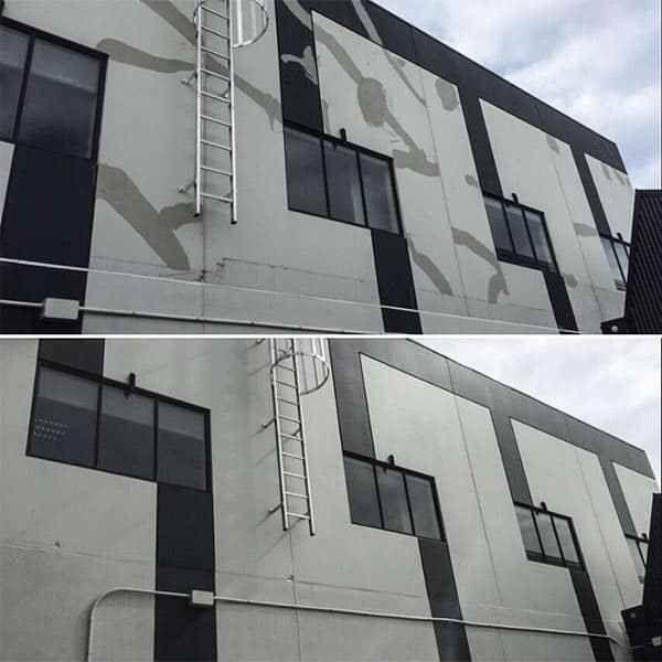 Crack Repair & Repaint