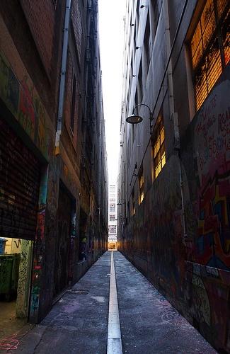 Alleyway  Melbourne