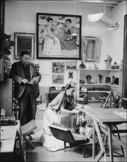 LA CASA AZUL Frida Kahlo - Diego Rivera