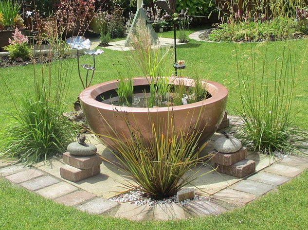 71 Best Images About Container Ponds For Water Gardening In Small Spaces On Pinterest The Pond