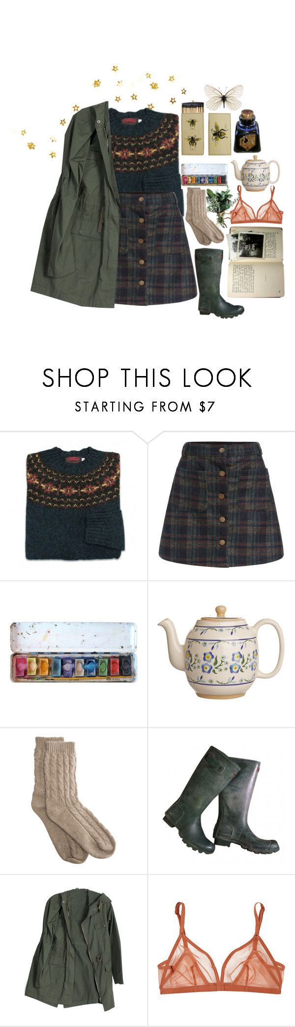 """""""days in the forest"""" by hobojuice ❤ liked on Polyvore featuring Bamford, Eres and vintage"""