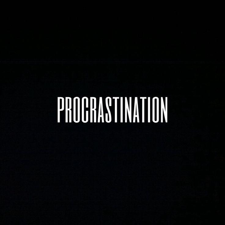 #procrastination #bonjourmademoisellec