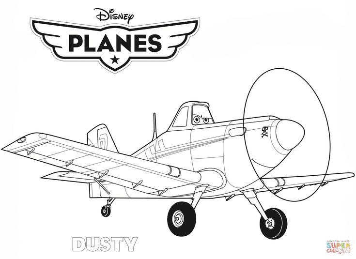 Disney Planes Dusty Super Coloring
