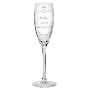 Champagne Flute that can be personalised