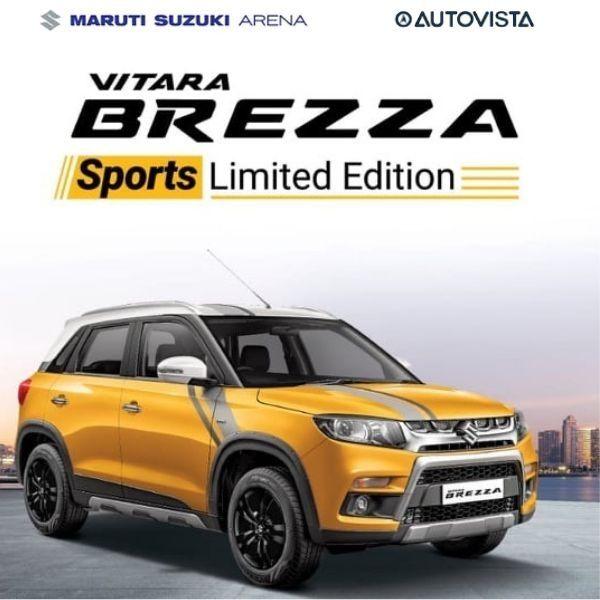 Maruti Vitara Brezza Sports Edition 2019 Suzuki Driving Test Brezza