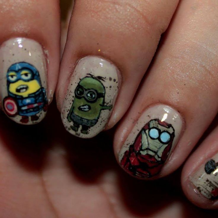 Avengers Nail Art Stickers: 25+ Best Ideas About Avengers Nails On Pinterest