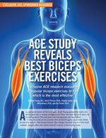 ACE - ProSource: ProSource: August 2014 - ACE Study Reveals Best Biceps Exercises