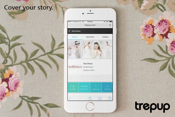 Retell your brand story through a picture, make it your Cover on Trepup.  http://trepup.co/1J0JRUx