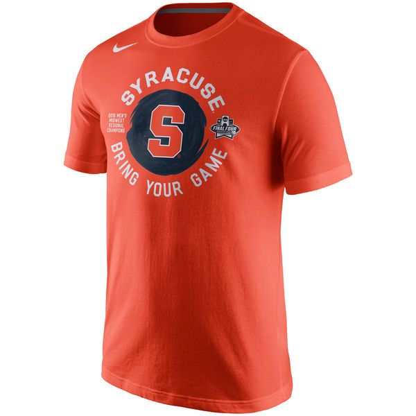 Syracuse Orange Nike 2016 NCAA Men's Basketball Tournament Final Four Bound Locker Room T-Shirt - Orange - $19.99