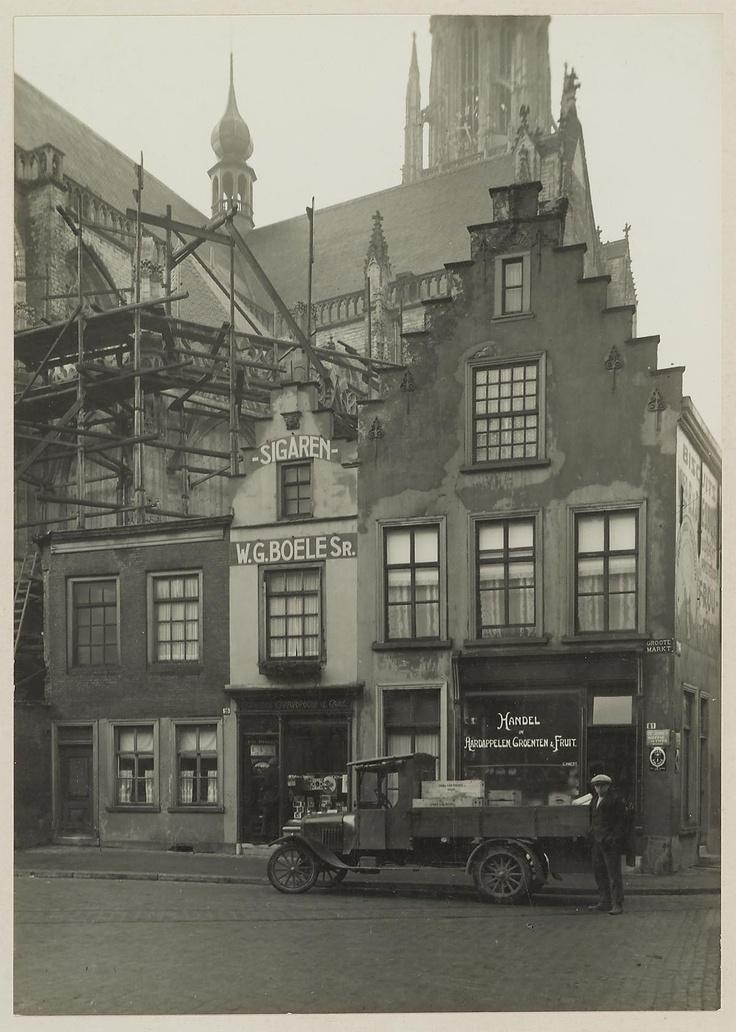 Breda - Grote markt 59-61. 1924