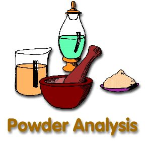 Detective/Special Agent: Powder/substance analysis - our girls loved this activity