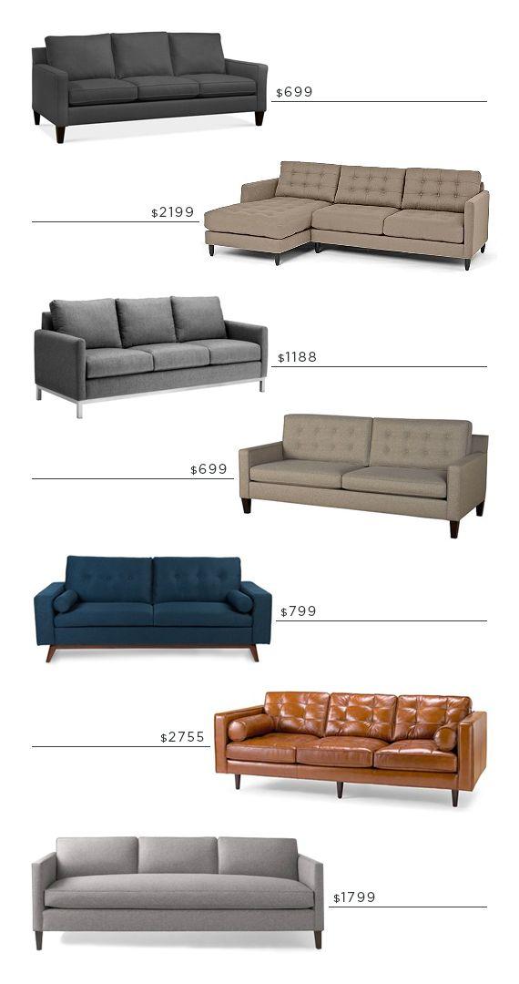 sofas--inexpensive and nice