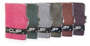 Porta carte di credito e porta banconote I-Clip Vintage 6 colori! Credit card holder and banknotes holder I-Clip Vintage 6 colours! www.calzaveste.it