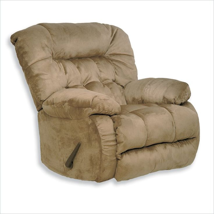 Marvelous Catnapper Teddy Bear Oversized Chaise Swivel Recliner In Sage
