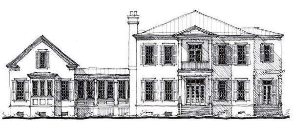 House Plan 73879 | Country   Historic    Plan with 4406 Sq. Ft., 4 Bedrooms, 5 Bathrooms