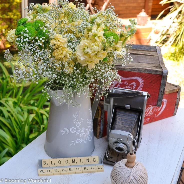 Country Flower Arrangement