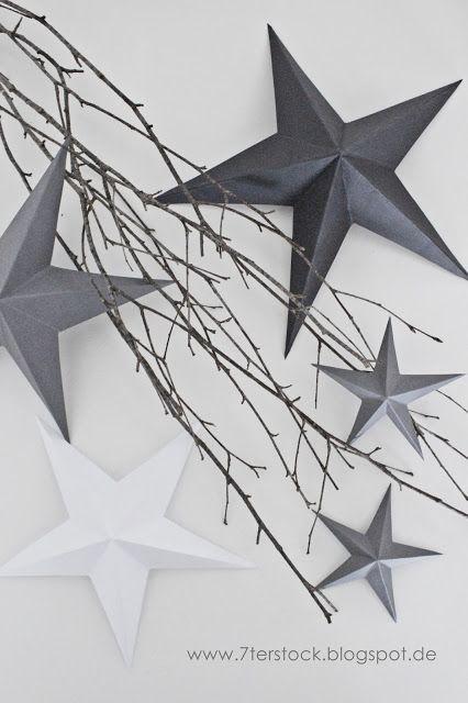 7ter Stock: DIY - Paper Stars + Geschichten aus dem Leben