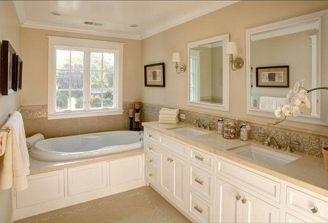 Best 25 neutral bathroom tile ideas on pinterest neutral bath ideas neutral bathrooms for Best paint color for crema marfil bathroom