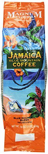 Magnum Jamaican Blue Mountain Blend Coffee, Ground, 1 Lb Bag *** For more information, visit image link. #Coffee