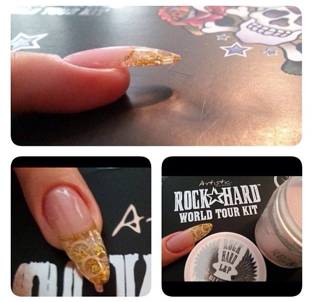 25+ best Rock Hard Nails images by Artistic Nail on Pinterest | Hard ...