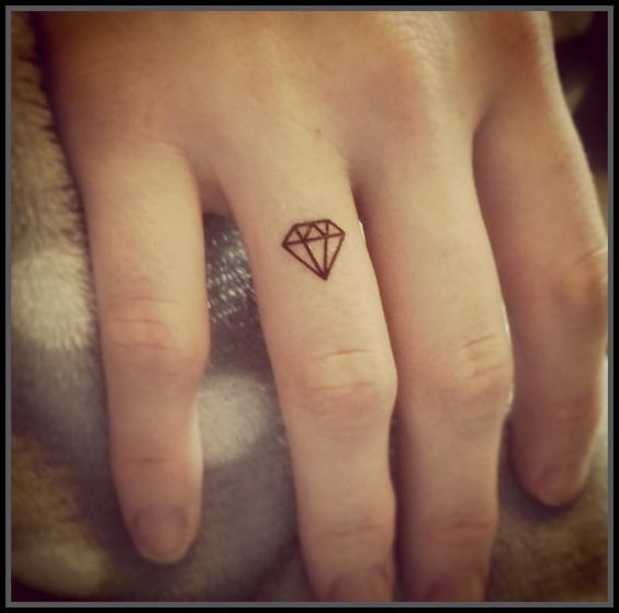 50 best images about diamond tattoos for men on pinterest for Best fake tattoos