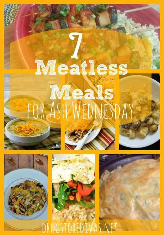 Today is Ash Wednesday — the start of Lent for Catholics. That also means no meat today. We actually eat meatless pretty much every day, but in case you need some ideas, you're in luck. I put together a list of 7 Meatless Meals for Ash Wednesday. Yum. Save the list because you can also Continue reading