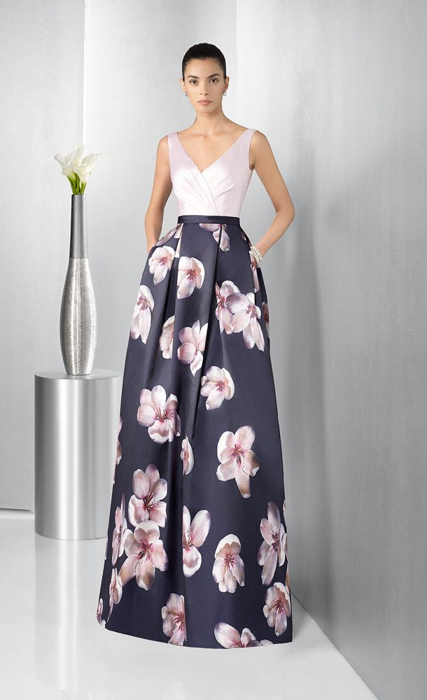 imágenes oficiales sombras de Cantidad limitada Vestido de Madrina de Couture-Club (1G288), largo | Vestidos ...