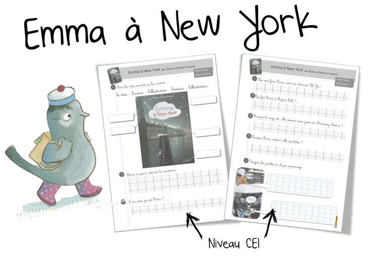 Emma à New york : Lecture suivie CP - CE1 - Bout de gomme