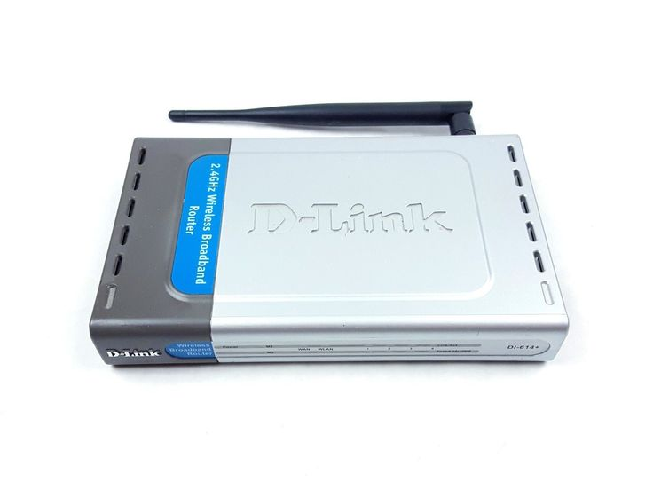 UncleZekes.com - D-Link DI-604 4-Port 10/100 Wired Router