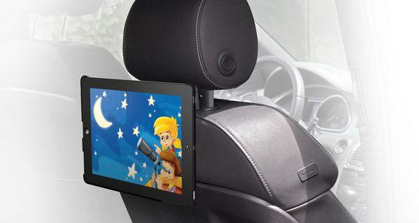 Car Cinema di My Mobile Meliconi, il supporto per tablet perfetto per i viaggi in macchina