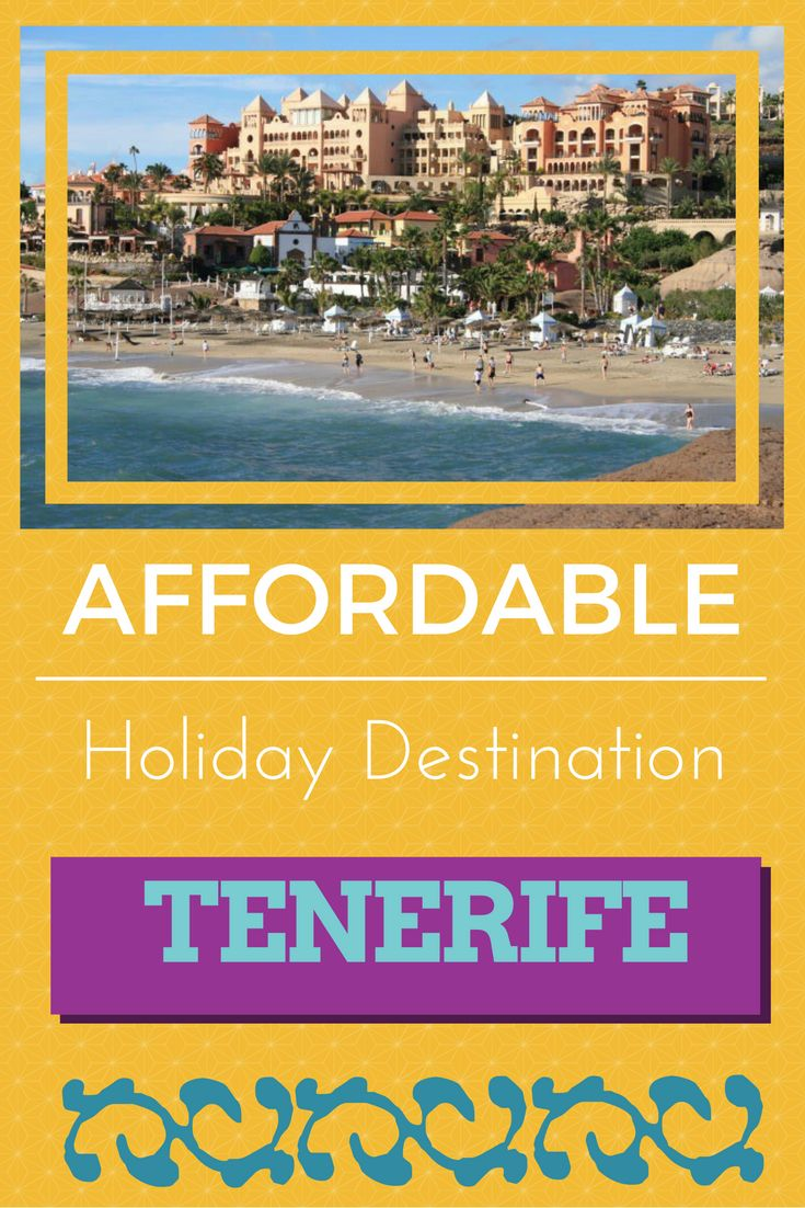 Tenerife (Canary Islands) is a great holiday destination with year round sunny weather. It's popular among tourists and has a lot to offer