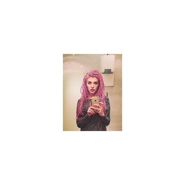 Fryzury  Dredy włosy: Fryzury Długie Alternatywne Dredy - Szzeherezada... ❤ liked on Polyvore featuring dread