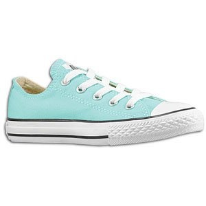@Stephanie Sexton - No yellow Chucks for little kids, but they do have Aruba Blue.  Do you think it's too girly?  (It might be, but I also kinda like it.)