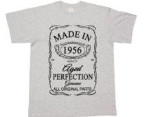 60th Birthday 60 Years Made In 1956 Edition Gift unisex T shirt