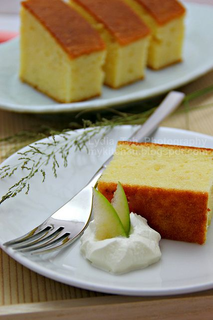 Durian Pound Cake by Lydia's Corner, via Flickr