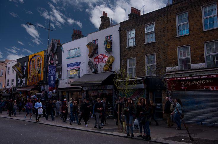 Building decorations on Camden St Market