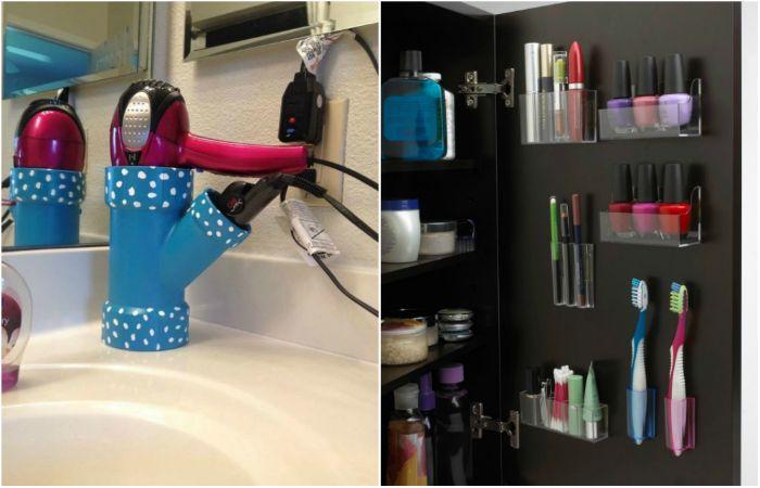 Как оптимизировать хранение вещей в ванной комнате