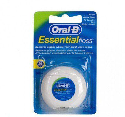 Купить Зубная нить «Мятная» - Oral-B Essential Floss на makeup.com.ua — фото N1
