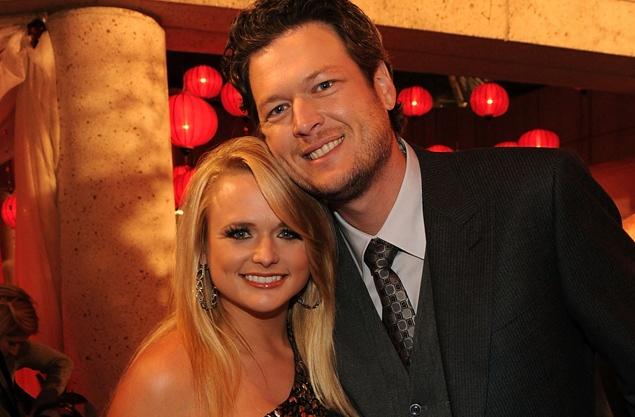 Blake Shelton and wife Miranda Lambert