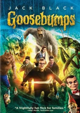 Goosebumps, Movie on Blu-Ray, Family Movies, Adventure Movies, movies coming soon, new movies in January