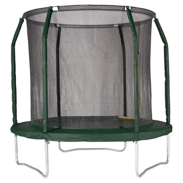 Action Sports 8 Feet Trampoline Combo