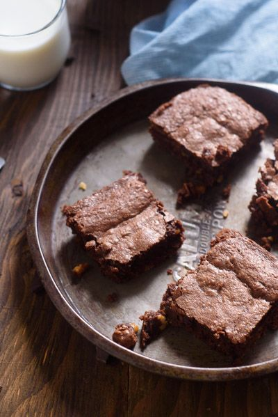 Cocoa powder and pantry staples make up the best brownie recipe you will ever…