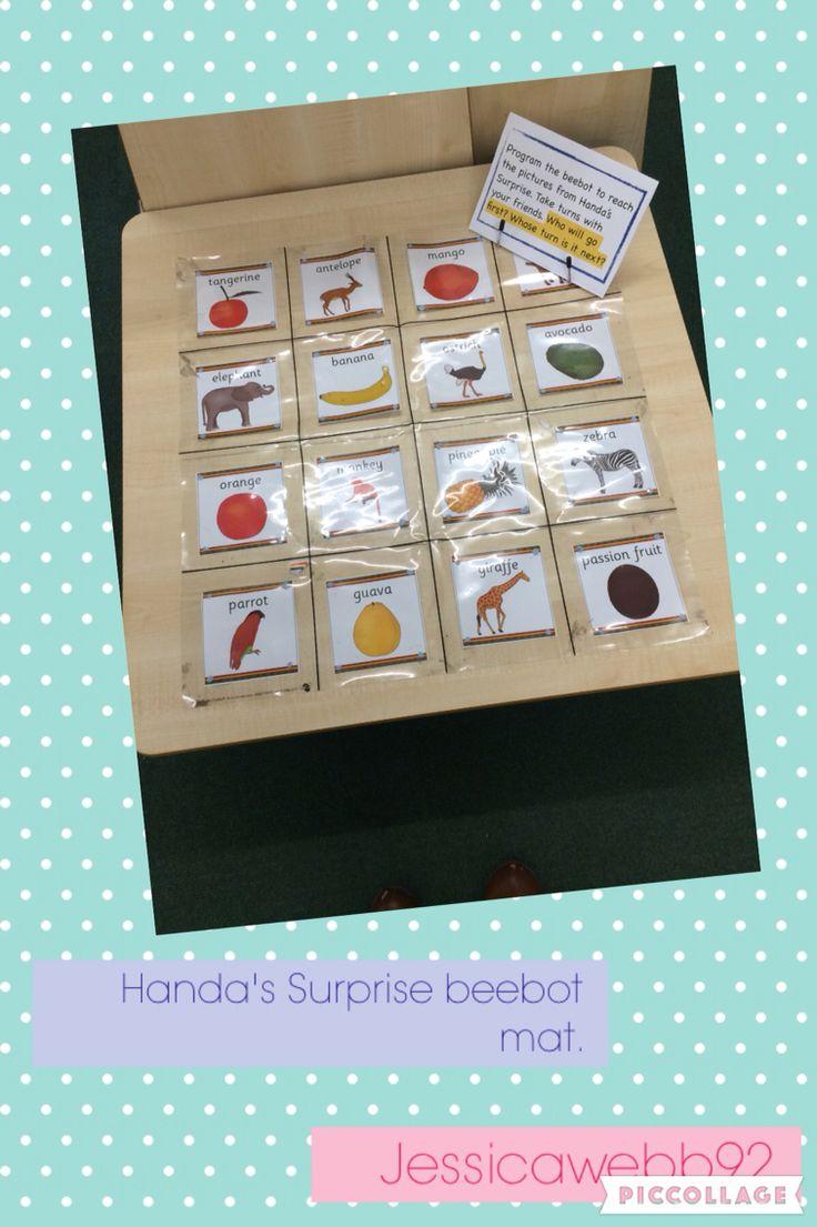 Handa's Surprise beebot mat. EYFS