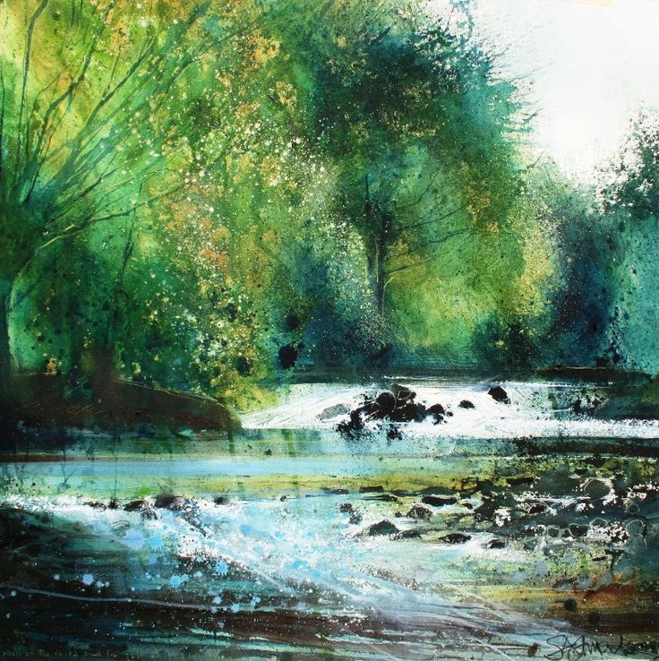 'Moss on the rocks' by Stewart Edmondson - in a limited edition of 50 from www.dart-gallery.com