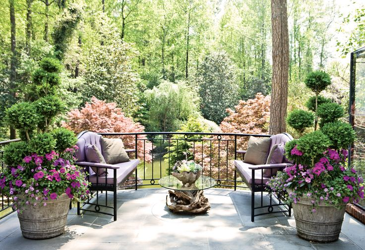 what a beautiful viewPlants Can, Gardens Gift, Gardens Patios, Back Yards, Master Bedrooms, Patios Ideas, Outdoor Spaces, Front Porches, Backyards