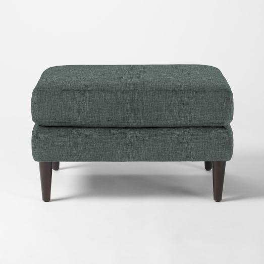 Everett Upholstered Ottoman | West Elm