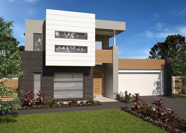 Brooklyn Facade For The Kirra, Ella, Hadley, Kerwin, Paterson U0026 Richmond Home  Designs.