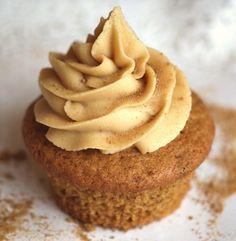 Vegan Maple Cupcakes with Pure Maple Buttercream
