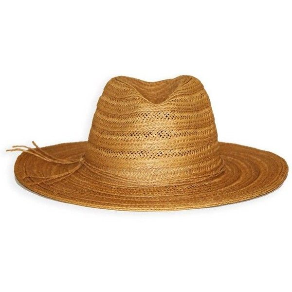 Dorfman Pacific Textured Braid Fedora (105 BRL) ❤ liked on Polyvore featuring accessories, hats, swimwear, paper sun hat, braid crown, fedora beach hat, fedora sun hat and paper fedora hat